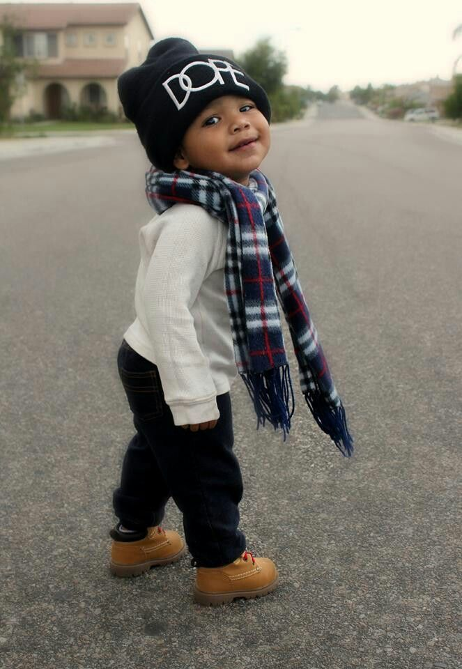 awesome Dope hat baby boy swag designer kid cool kid fashion baby swag...                                                                                                                                                                                 More
