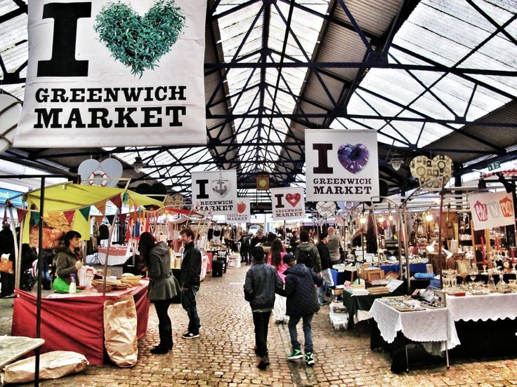 Greenwich Market (food and craft market) - London, England