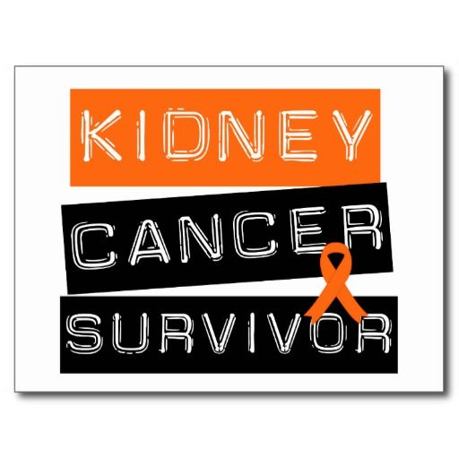 4 Year Kidney Cancer Survivor as of today! Thank you God for blessing me much more than I deserve!