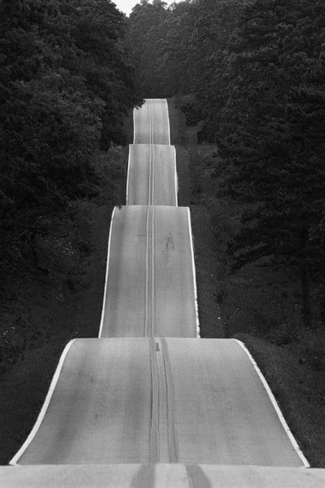 Open Road - Riding my bike on this would be so fun!
