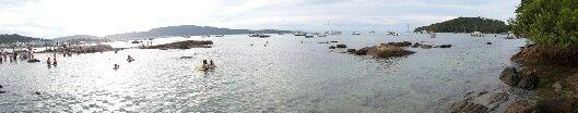 Praia da Lagoinha, Bombinhas/SC. Paraíso!