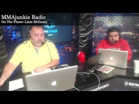 Liam McGeary on MMAjunkie Radio
