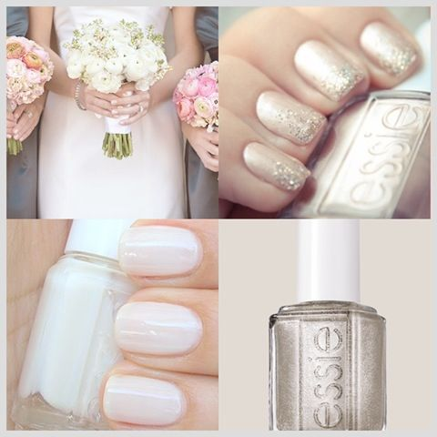 Wedding nail ideas. Tip: Keep it soft and natural. You want to look like the best version of yourself on your wedding day. Thus, it's important to keep things simple and clean! You want your groom to recognize you after all...