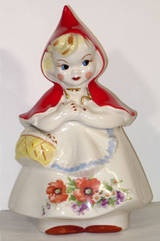Little Red Riding Hood Antique Cookie Jar