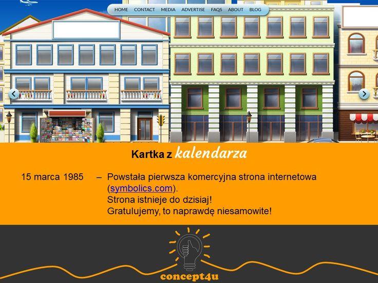 kartka z kalendarza 15 marca; więcej: www.concept4u.eu