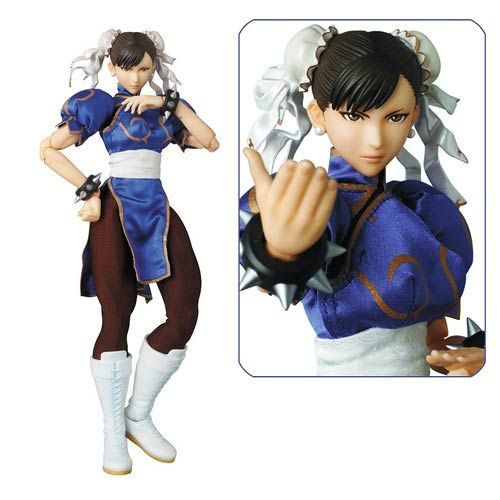 Street Fighter IV Chun-Li Version 2 Real Action Hero Figure