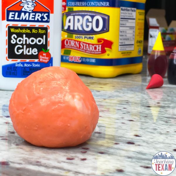 how to make oobleck into slime