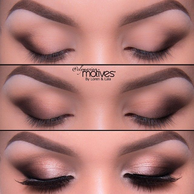 @elymarino Brown all aroundSimple & Easy everyday Brown Elegance! ;) perfect for Slanted eyes