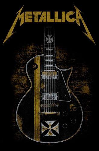 Drapeau METALLICA - Hetfied Guitar