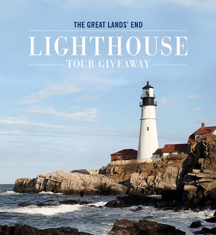 I just entered the Great Lighthouse Tour Giveaway from Lands' End! Want in on the fun? You could win a 3-night, 4-day trip to Seattle including luxury accommodations at the Four Seasons Seattle, airfare for two   $1500 cash and an amazing lighthouse tour. Enter now for your chance to win!