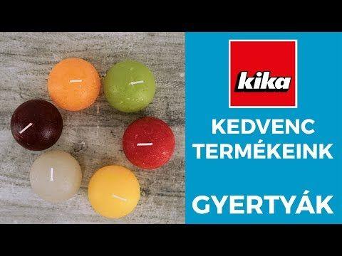 (40) Kedvenc termékeink - Gyertyák | Kika Magyarország - YouTube