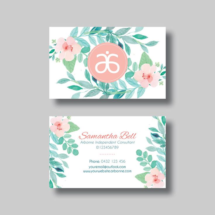 11 best Arbonne business card images on Pinterest Arbonne business