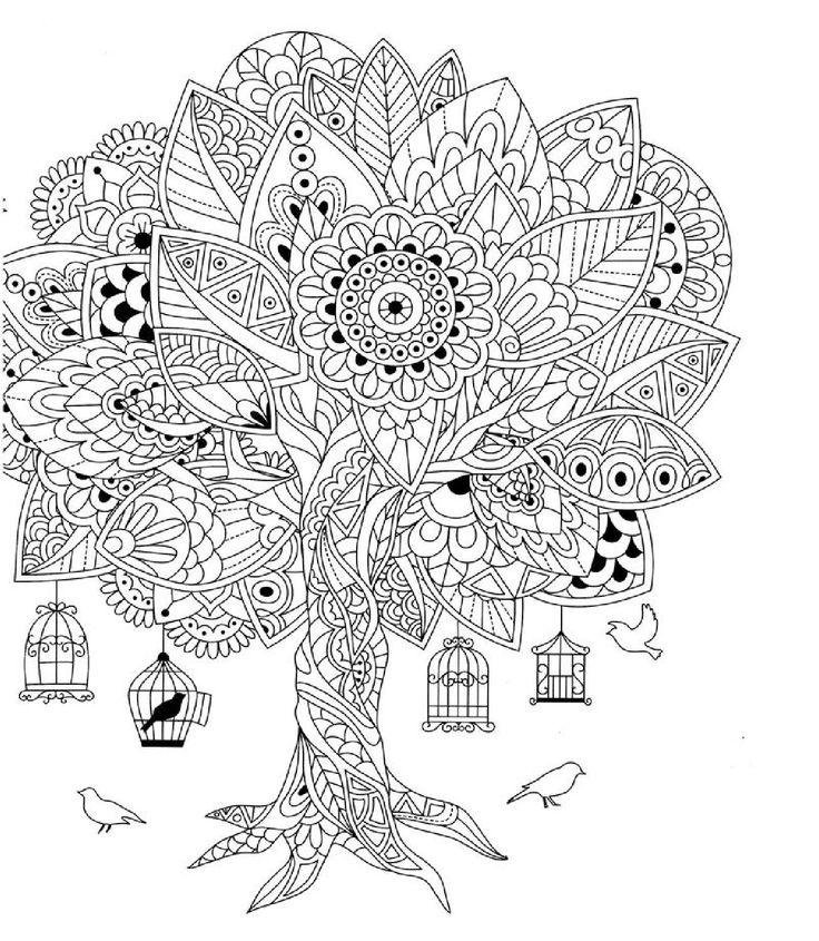 Abstract Bird Coloring Pages : Best images about coloring therapy doodle art on