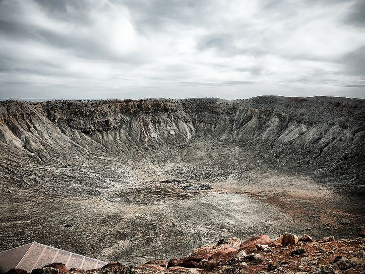 https://flic.kr/p/Q6A4DH | Deep Impact | Meteor Crater, Arizona, USA.   #Landscape #Colour #Photography  www.richardsugden.com  © Richard Sugden 2016 All rights reserved.