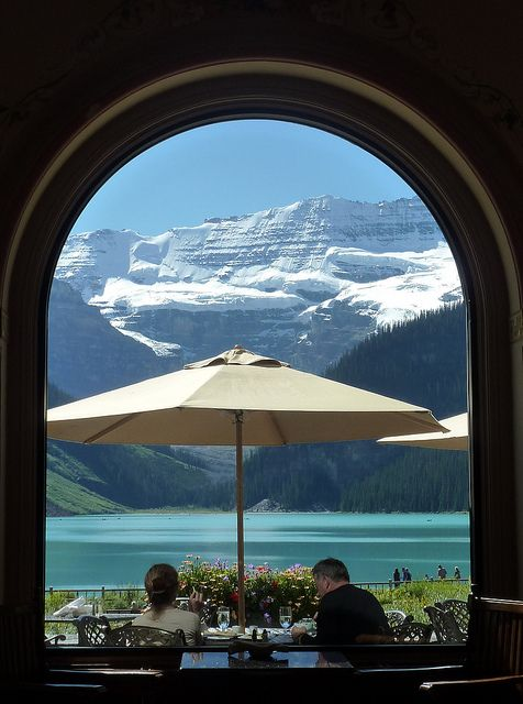 Fairmont Hotel on Lake Louise, Canada
