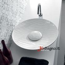 Lavabo appoggio decorato