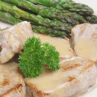 Ragout van lamsvlees met asperges