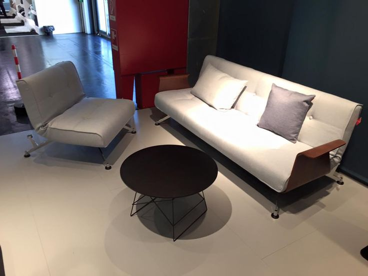 Innovation Living- Clubber Sofa, Chair and Grid Table- at the Imm Cologne 2016