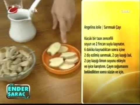 Ender Saraç sarımsak çayı tarifi ile zayıflayın - rumma - rumma