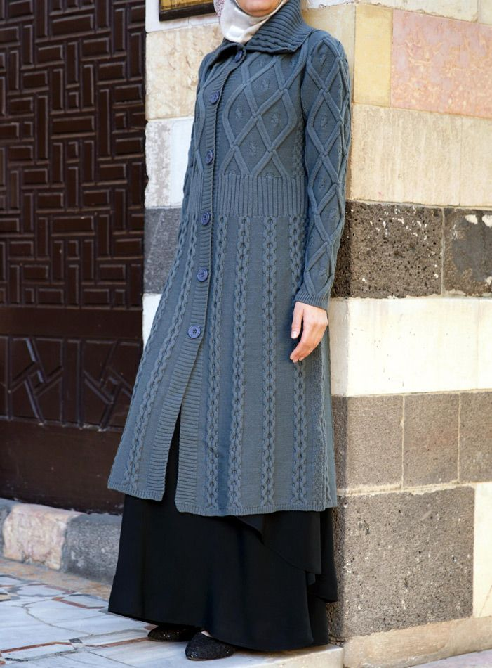 Aran Knitted Cardigan