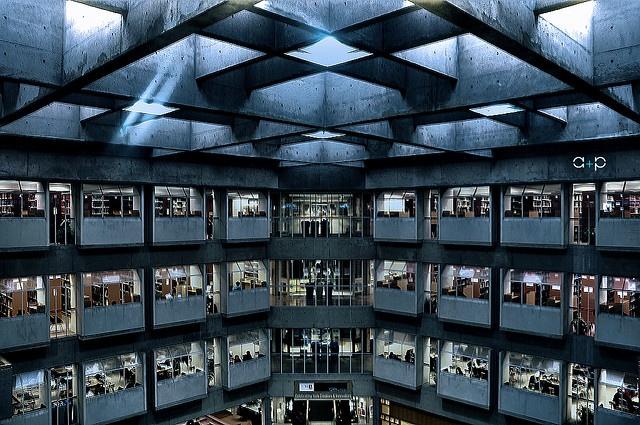 Scott Library at York University (addictedtoprocrastination, via Flickr)