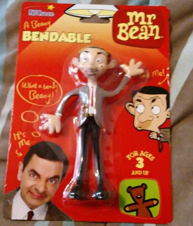 MR BEAN Bendable toy Action figure BBC British TV Comedy Rowan Atkinson BENDY  | eBay