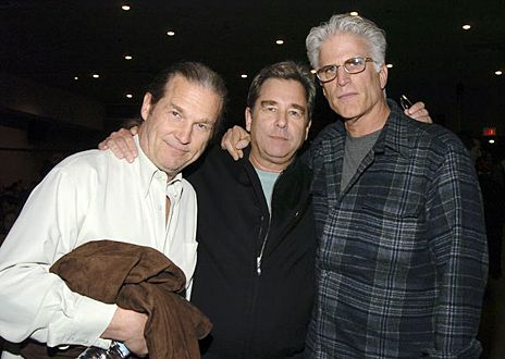 Beau and Jeff Bridges with Ted Dansen