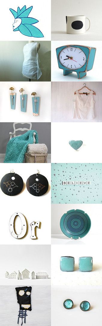 BeLiEve iN AqUa by ••Bec•• on Etsy--Pinned with TreasuryPin.com