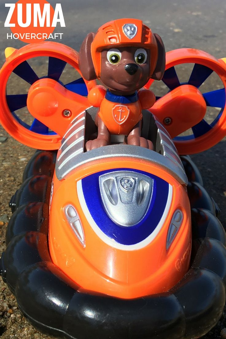 The Zuma Hovercraft Paw Patrol Vehicle - fits Paw Patroller and Lookout Tower CLICK HERE TO SEE
