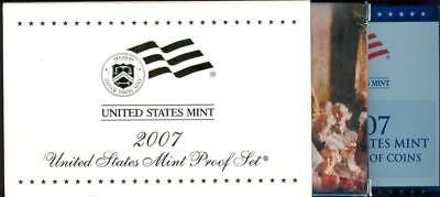 #coins 2007 United States Mint 14 Coin Proof Set *LQQK* FREE SHIP (personal collection) please retweet