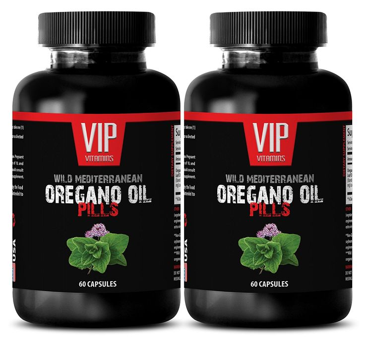 Oregano capsules - Wild Mediterranean Oregano Oil 1500mg - Digestive cleaner - 2 Bottles 120 Capsules *** Find out more details by clicking the image : Weight Loss Herbal Supplements