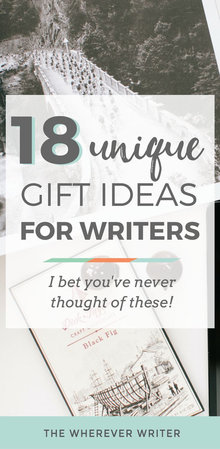 18 Unique Gifts For Writers Betcha Never Thought Of These Via Whereverwriter