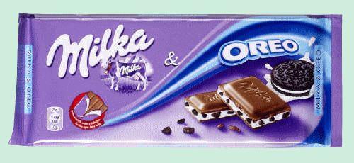 MILKA Oreo tablette chocolat lait 100gr