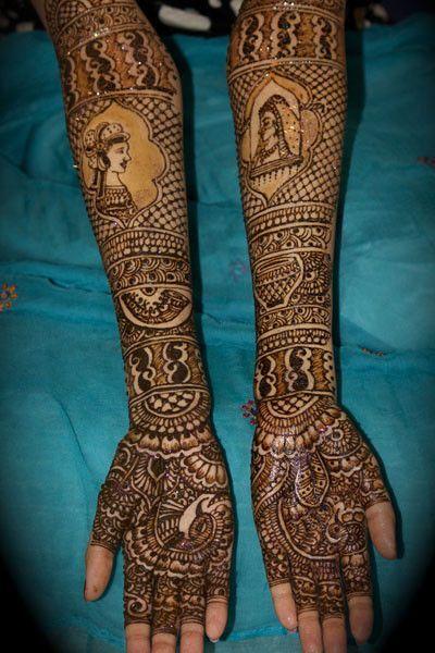 Singar Makeup Mehndi Studio submitted beautiful mehndi designs for our 3rd Annual Mehndi Maharani Contest.