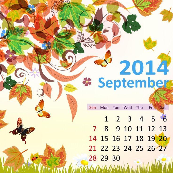 9 September 2014 780x780 2014 Calendar. all Months [12 JPEGs]