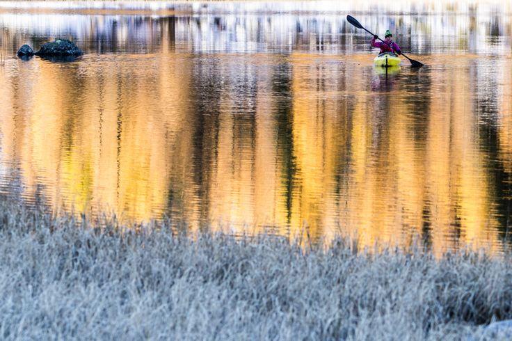 kayak San Giuliano Lake, Italy © Ruggero Arena