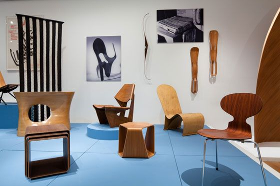 Friday Food For Thought: 'Plywood: Material, Process, Form' at MoMA Dailytonic