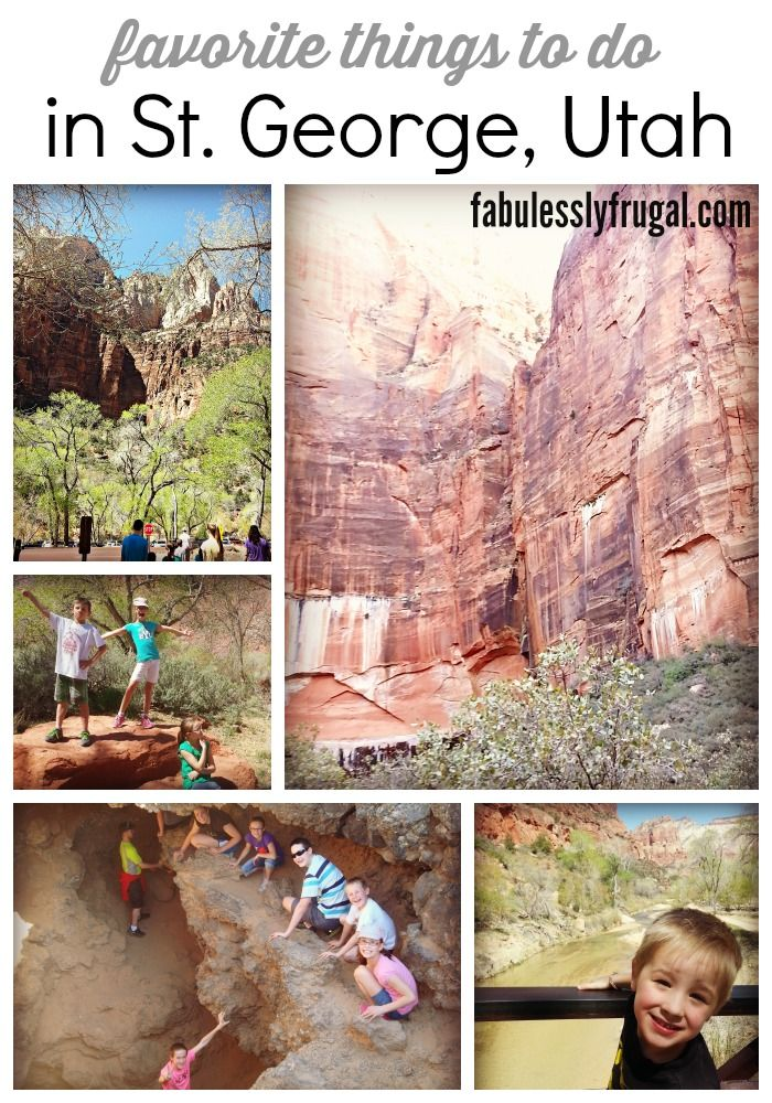 Favorite things to do in St George, Utah