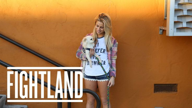 nice At Home with UFC Strawweight Paige VanZant: Moving Portraits