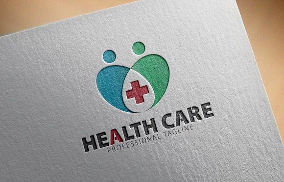 Health Care Logo by CreativeDezing on @creativework247