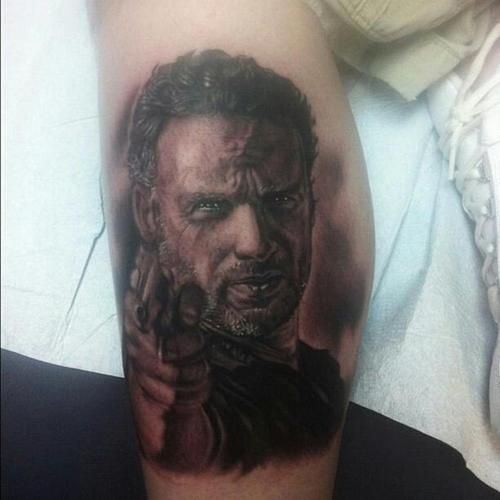10 The Walking Dead Tattoos