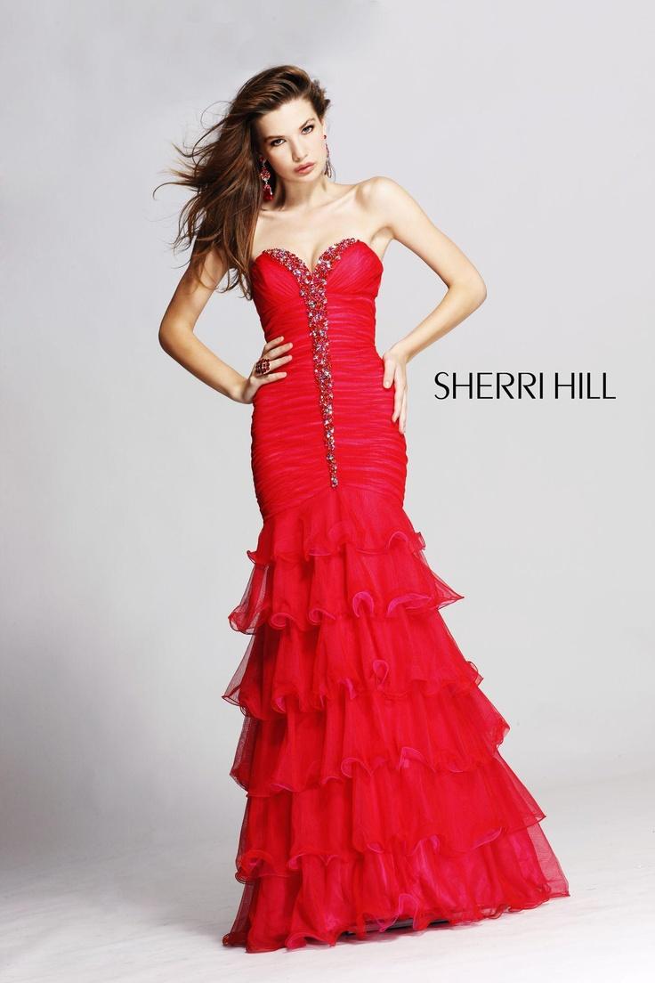 8 besten Sherri Hill Dresses Bilder auf Pinterest | Abendkleid ...