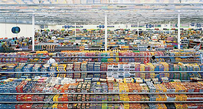 MoMA.org | Interactives | Exhibitions | 2001 | Andreas Gursky | 99 Cent