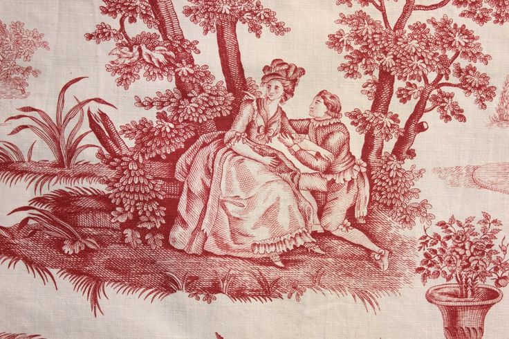 1000 images about fabrics on pinterest for French toile fabric
