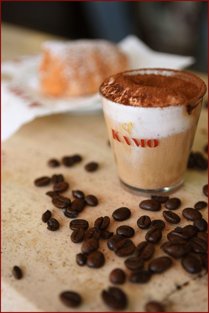 L'estate è nell'aria!  Noi ci prepariamo gustando una crema fredda al #caffekamo, perfetta in questo caldo pomeriggio di giugno...ci fate compagnia?  #puntikamo