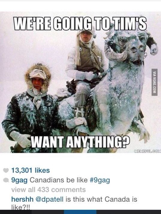 "I like the comment ""is this what Canada is like!?!?!"" Hee hee!!!"