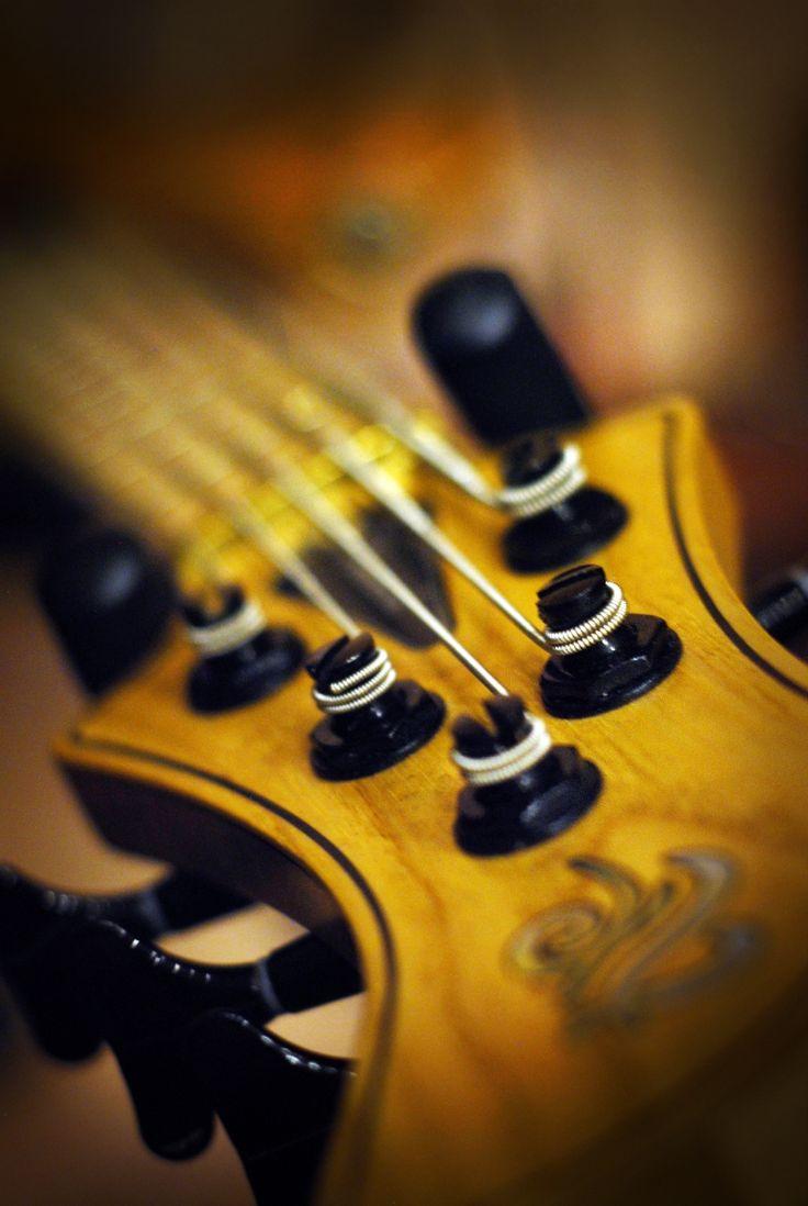 #music #guitar #string #strings #macro