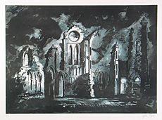 Arbroath Abbey - John Piper