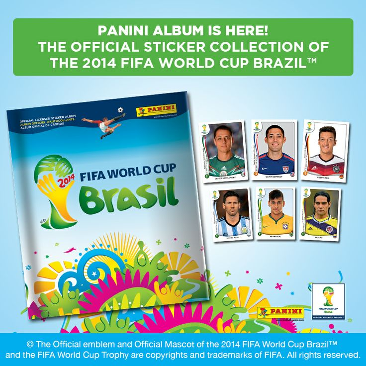 For a limited time, all SOCCER.COM orders include a free 2014 FIFA World Cup Panini Sticker Album!