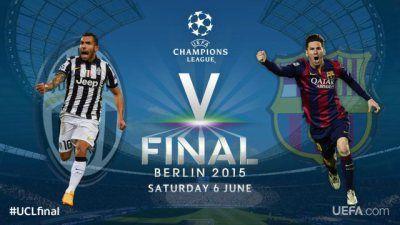Follow the Champions League final live on #Radioline! #radio #LDC #BarcaJuve #Football